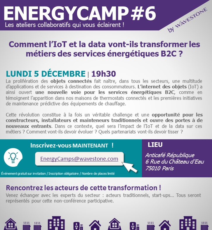 Energycamps - invitation clients sans intervenants - Energycamps