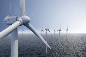 énergies renouvelables - champs d'éoliennes