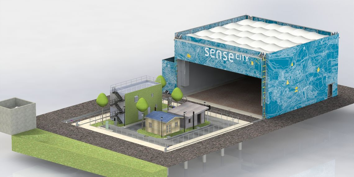 Sense-City, une mini-ville artificielle au service du progrès technologique