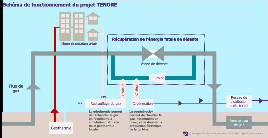 Fonctionnement du projet TENORE