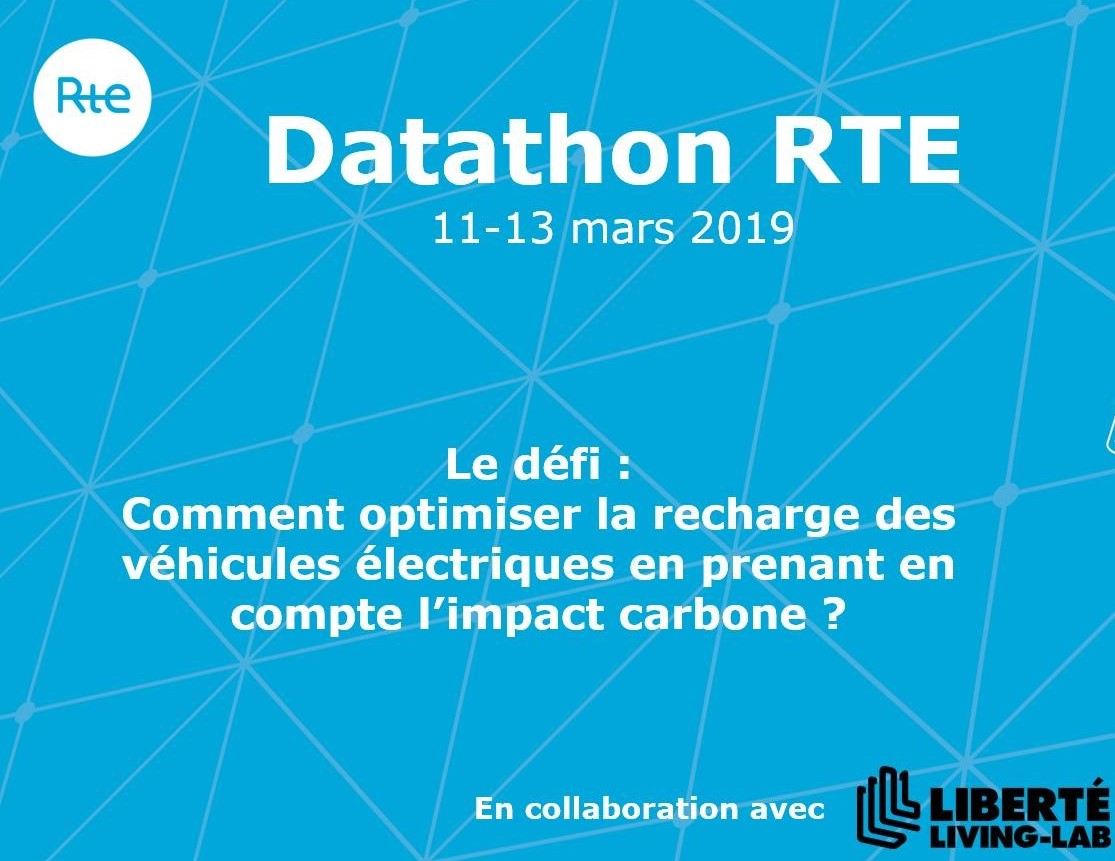 Datathon RTE : « Comment optimiser la recharge des véhicules électriques en prenant en compte l'impact carbone »