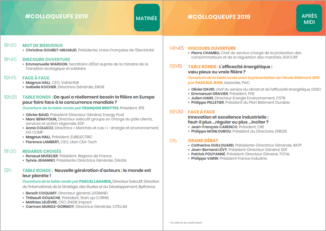 Programme colloque UFE
