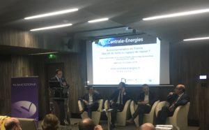 Clément Le Roy, Didier Lafaille, Otmane Hajji, Alexandre Roesch et Hervé Lextrait réunis pour aborder l'autoconsommation