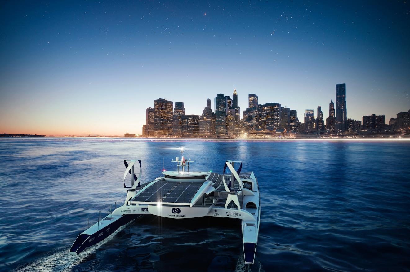 Energy Observer, une nouvelle aventure en mer !