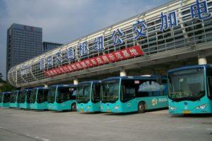 Bus électriques en Chine